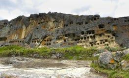 Ventanillas de Otuzco. Cajamarca. Il Perù. Immagine Stock Libera da Diritti