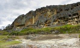 Ventanillas de Otuzco. Cajamarca. Il Perù. Fotografia Stock