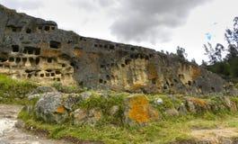 Ventanillas de Otuzco. Cajamarca. Il Perù. Immagini Stock