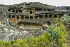Ventanillas de Otuzco. Cajamarca. Il Perù. Fotografie Stock