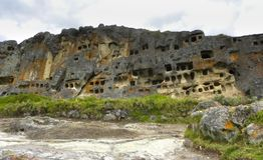 Ventanillas de Otuzco. Cajamarca. Peru. Imagem de Stock Royalty Free