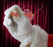 Ventas de la Navidad Imágenes de archivo libres de regalías