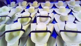 Ventas de los sombreros del estilo del caliente del tierra en Quetzala, Guerrero, México imagen de archivo libre de regalías