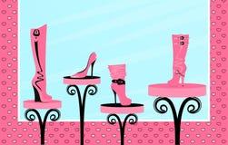 Ventas del calzado de la manera stock de ilustración