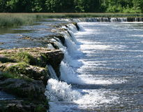 Ventas Rumba Wasserfall stockfotos
