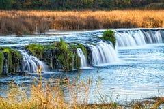Ventas Rumba waterfall stock image