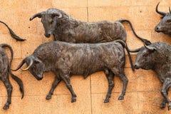 ventas toros de las plaza Στοκ Εικόνες