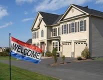 Vente à la maison neuve image libre de droits