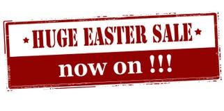 Vente énorme de Pâques maintenant dessus illustration libre de droits