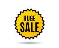 Vente énorme Signe des prix d'offre spéciale illustration stock