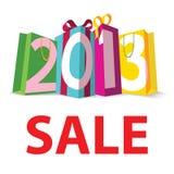 Vente 2013 de cadeau Photos stock