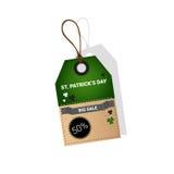Vente au rabais d'offre de Patrick Day Beer Festival Special de saint Images libres de droits