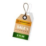 Vente au rabais d'offre de Patrick Day Beer Festival Special de saint Image libre de droits