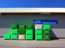 Vente aux enchères de poissons Photo stock
