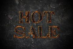 Vente chaude Photographie stock libre de droits