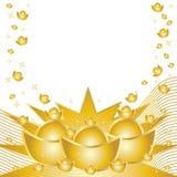 Vente d'or Image libre de droits