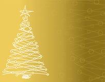 Vente d'arbre de Noël illustration libre de droits