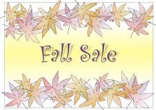 Vente d'automne Photographie stock