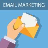 Vente d'email Photos libres de droits