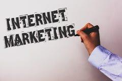 Vente d'Internet des textes d'écriture Concept signifiant le holdin en ligne de main d'Entrepreneurship Advisors d'entrepreneur d Images libres de droits