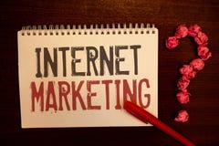 Vente d'Internet des textes d'écriture Concept signifiant les boules en ligne de papier d'Entrepreneurship Reddish d'entrepreneur Photos stock