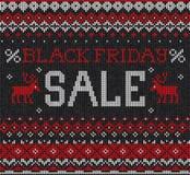 Vente de Black Friday : Ou russe embroid tricoté par style scandinave Photos stock