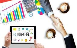 Vente de CONCESSION stigmatisant au détail et mission C de travail d'affaires image libre de droits