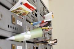 Vente de courrier image stock