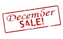 Vente de décembre Image libre de droits