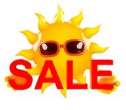 vente de 3d Sun illustration de vecteur