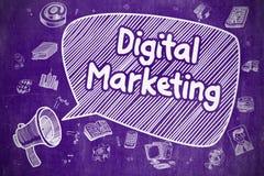 Vente de Digital - concept d'affaires Image stock