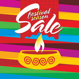 Vente de festival illustration stock