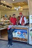 Vente de glace à Istanbul Images libres de droits