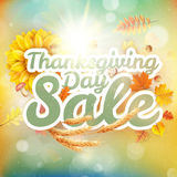 Vente de jour de thanksgiving ENV 10 Photos libres de droits