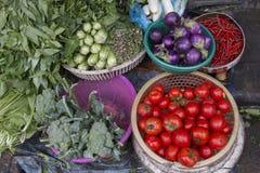 Vente de légumes Images stock