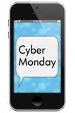 Vente de lundi de Cyber Photo stock