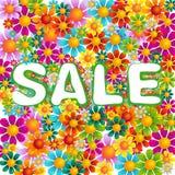 Vente de mélange de fleurs Photographie stock libre de droits