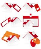 vente de maisons Image libre de droits