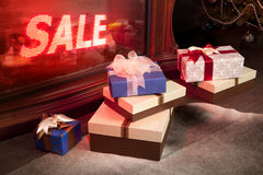 Vente de Noël Images stock