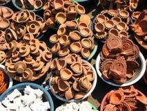 Vente de poterie Images libres de droits