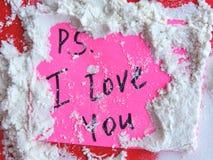 Vente de précipitation de vacances pour des amants des bonbons, des fleurs, des cadeaux, de l'heure pour l'amour et du bonheur Photo stock