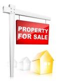 vente de propriété illustration de vecteur