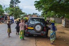 vente de rue au Burundi Photo stock
