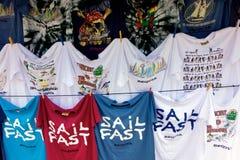 Vente de rue dans les Caraïbe Image stock