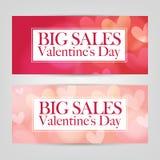 Vente de Saint-Valentin Photographie stock libre de droits