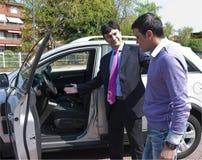 Vente de véhicule Photos libres de droits