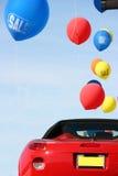 Vente de véhicules photos stock