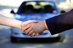 Vente de voiture photos stock