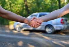 Vente de voiture photographie stock libre de droits