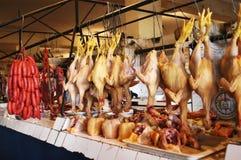 Vente des poulets Image stock